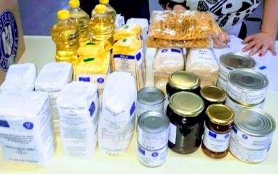 D.A.S Bacău începe  distribuţia de pachete cu ajutoare alimentare