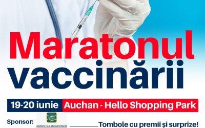 Maraton de vaccinare la Hello Shopping Park