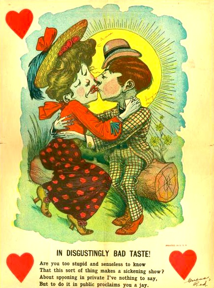 26 Creepy Scary Vintage Valentine Cards Deba Do Tell