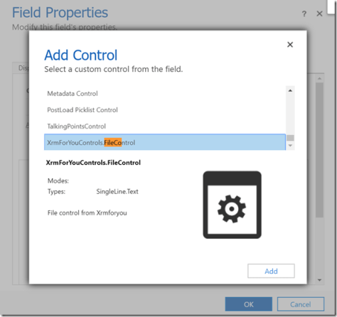 Create PCF Control step by step
