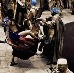 300 Kick - America vs United Nations