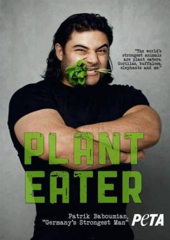 Food - The world's strongest animals are plant eaters. Gorillas, buffaloes, elephants and me. Patrik Baboumian, Germany's Strongest Man - PLANT EATER