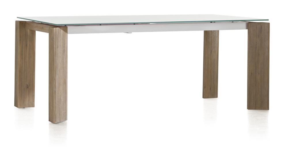 Eetkamertafel Kozak 160 cm wit  DEBA Meubelen
