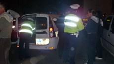 Zeci de focuri de armă s-au tras pentru oprirea unui șofer fugar