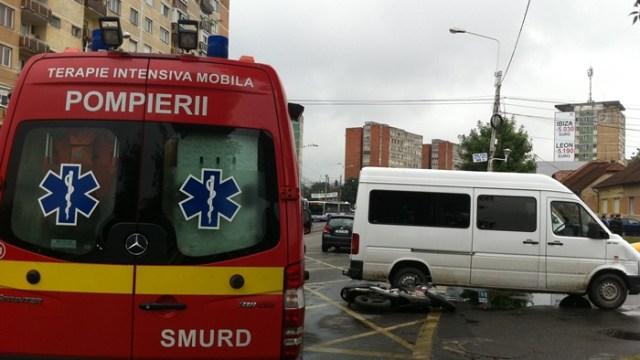 Accident în Calea Șagului
