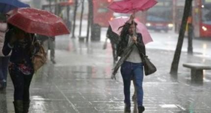Cod galben de ploi, vânt și vijelii