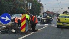 Traficul se redeschide temporar pe strada Arieș