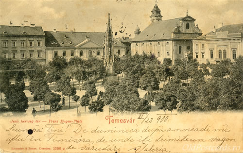 timisoara_pt_libertatii_1900