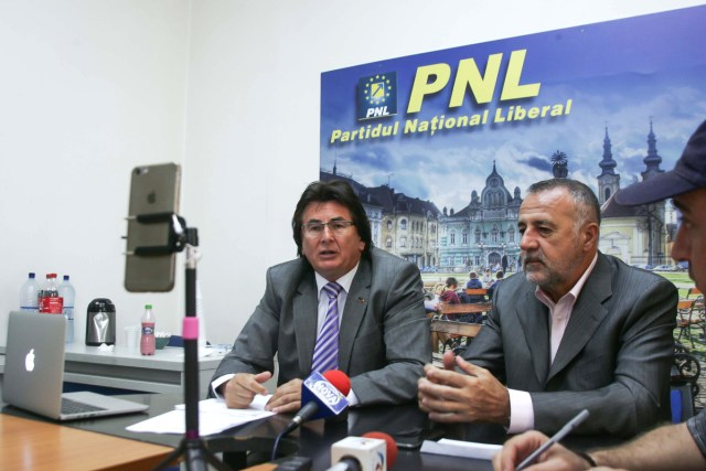 Nicolae Robu, Dan popa vicepresedinti PNL Timis, experiment conferinta 04
