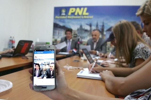 Nicolae Robu, Dan popa vicepresedinti PNL Timis, experiment conferinta 08