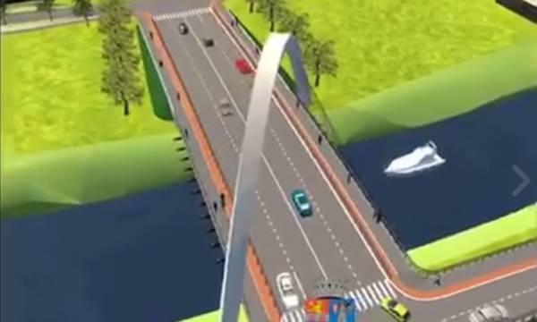 simulare pod jiul