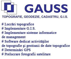 Gauss Topografie Timisoara