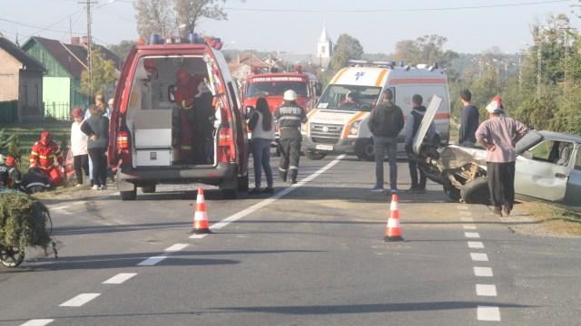 Accident pe Calea Aradului din Timișoara