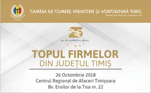 CCIAT - Topul Firmelor din Județul Timiș 2018