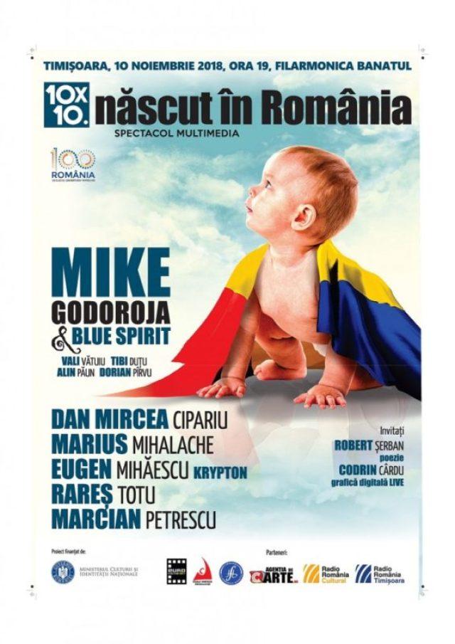 născut în românia