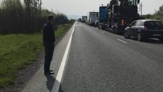 Accident la Găvojdia