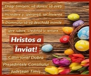 CJ Timiș, Călin Dobra - Hristo A Înviat!