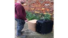 Țigări descoperite în gențile unui bărbat, în autogara din Timișoara