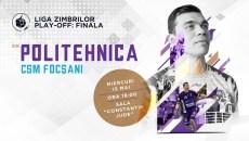 SCM Politehnica Timișoara, meci pentru locurile 7-8 cu CSM Focșani