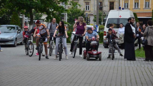Ștafeta ciclistă a ajuns la Timișoara