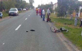 Biciclistă rănită grav la Dudeștii Vechi