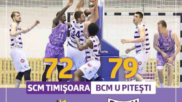 SCM Timisoara - baschet
