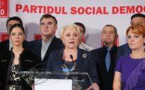 Viorica Dancila si lideri PSD