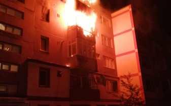 Incendiu într-un apartament din Reșița