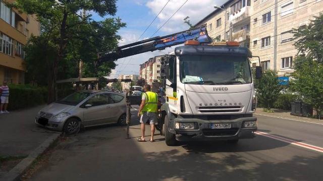 Amenzi pentru cei care parchează pe Calea Martirilor din Timișoara