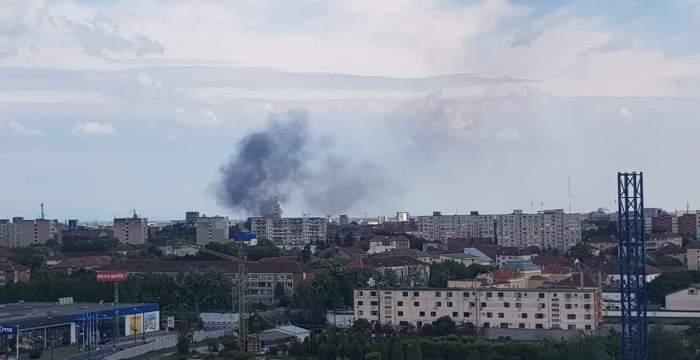 Incendiu în Timișoara