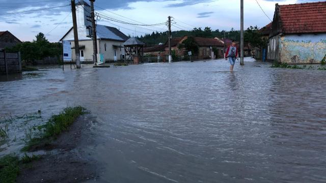 Inundații la Ohaba Lungă