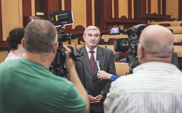 Prof. univ. dr. ing Viorel-Aurel Șerban, Rectorul UPT