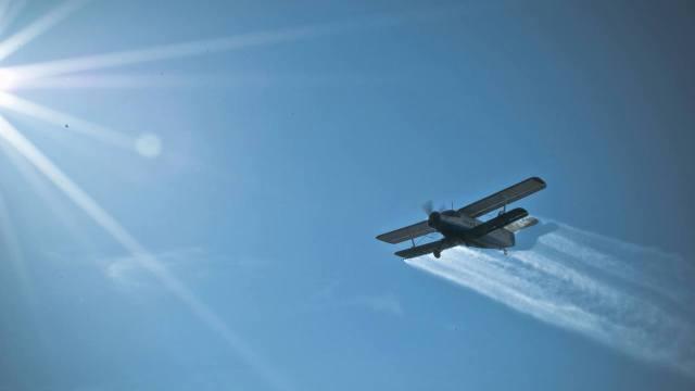 Dezinsecție din avion