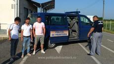 Migranți ilegali, prinși în Timiș