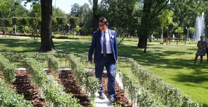 Nicolae Robu, specialist în peisagistică