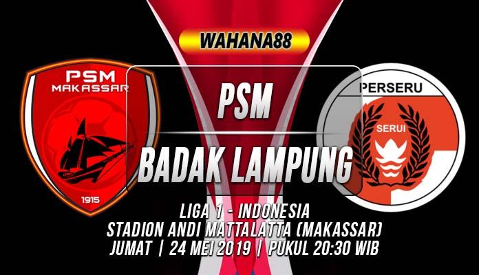Prediksi PSM vs Badak Lampung