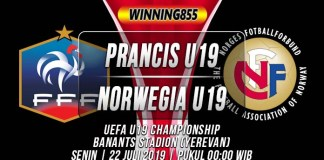 Prediksi Prancis U19 vs Norwegia U19