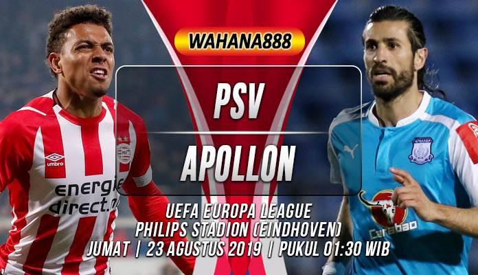 Prediksi PSV vs Apollon