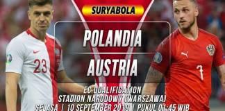 Prediksi Polandia vs Austria