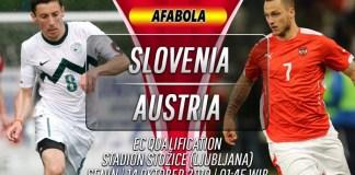 Prediksi Slovenia vs Austria