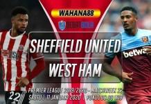 Prediksi Sheffield United vs West Ham United 11 Januari 2020