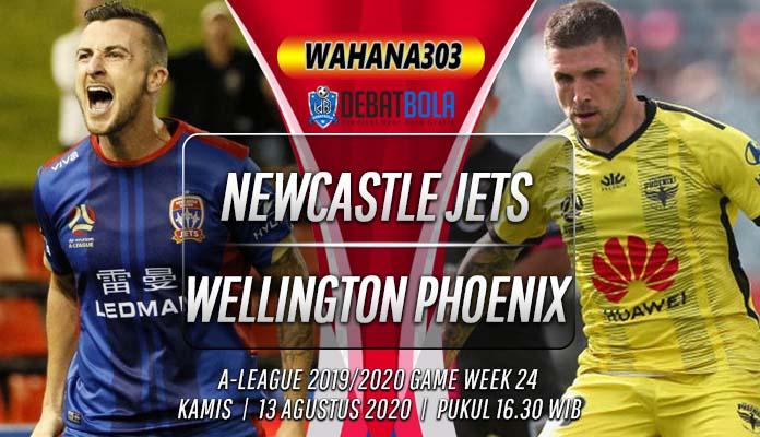 Prediksi Newcastle Jets vs Wellington Phoenix 13 Agustus 2020