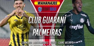Prediksi Club Guaraní vs Palmeiras 24 September 2020