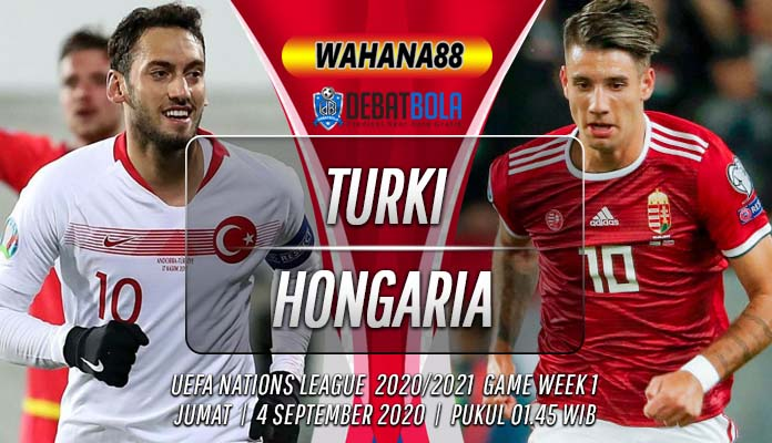 Prediksi Turki vs Hongaria 4 September 2020