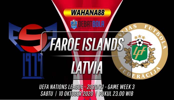 Prediksi Kepulauan Faroe vs Latvia 10 Oktober 2020