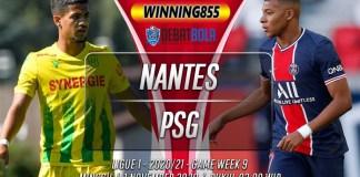 Prediksi Nantes vs PSG 1 November 2020