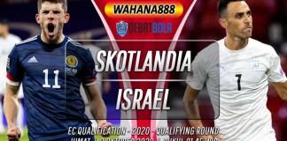 Prediksi Skotlandia vs Israel 9 Oktober 2020