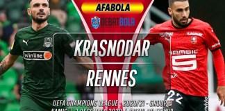 Prediksi Krasnodar vs Rennes 3 Desember 2020