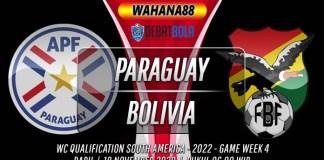 Prediksi Paraguay vs Bolivia 18 November 2020
