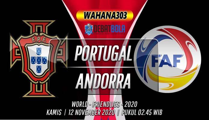 Prediksi Portugal vs Andorra 12 November 2020